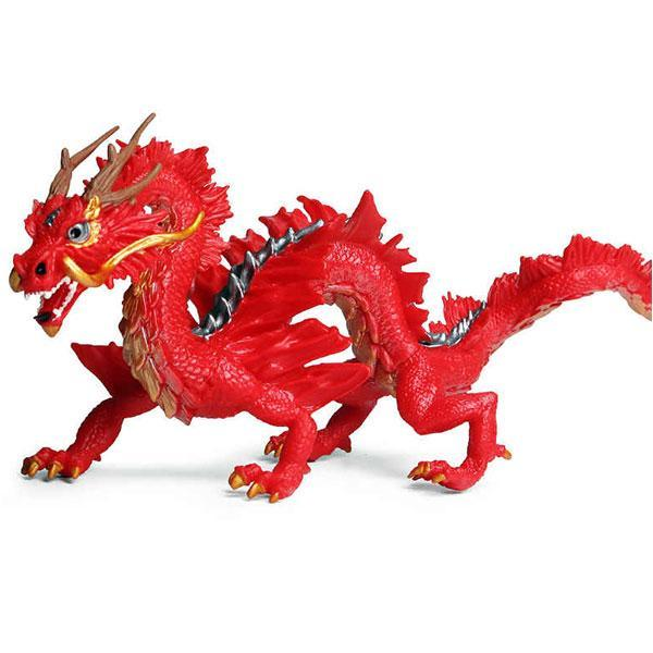Dragon Figure Red Chinese Art