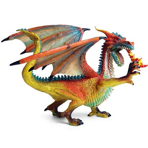 Dragon Figure Beautiful Colors PVC Statue