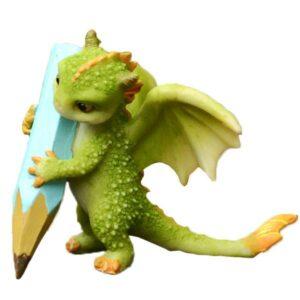 Dragon Figure of Resin 8cm 90gr