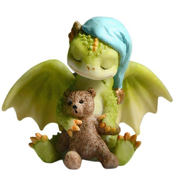 Dragon Figure Sleeping Cuteness Resin