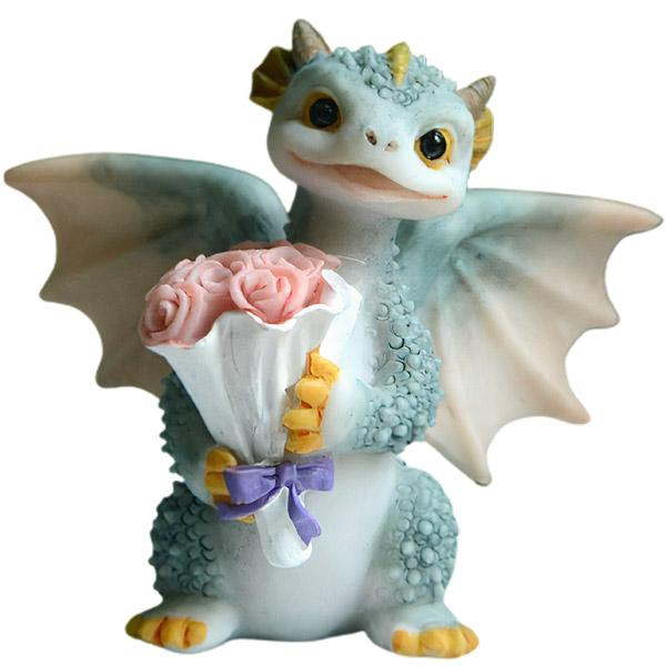 Dragon Figure Cute Resin 7cm