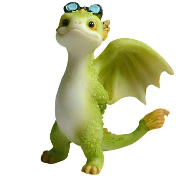 Dragon Figure Mini Cute Resin 8cm