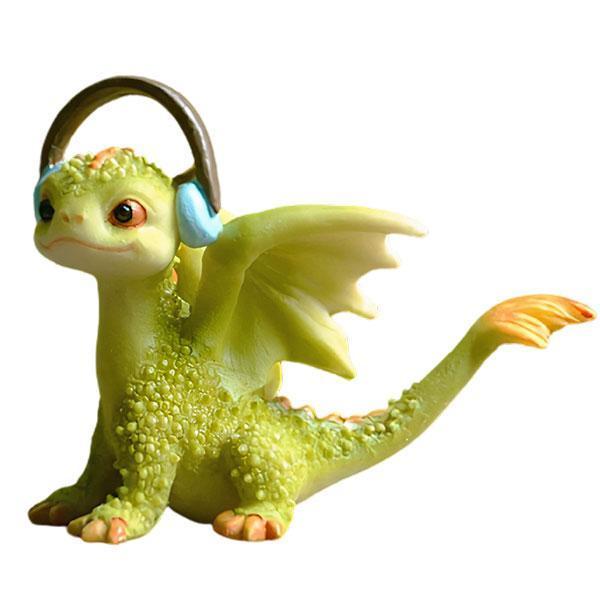 Dragon Figure Musician Resin