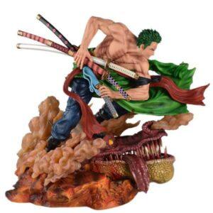 Dragon Figure Roronoa Zoro One Piece 42cm