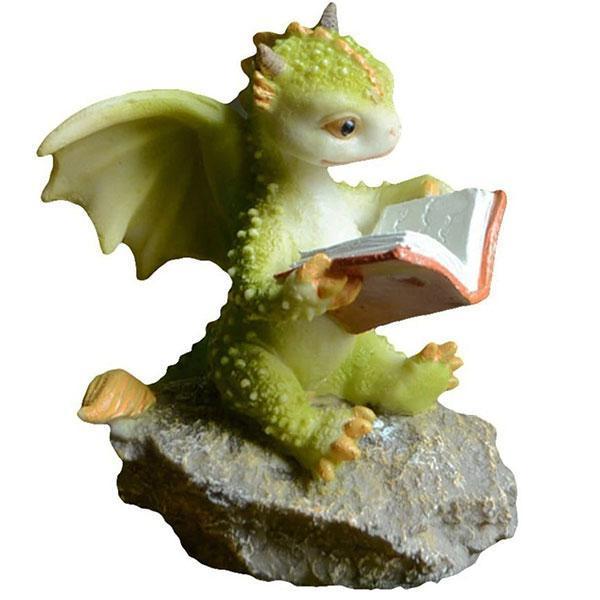 Dragon Figure Wise Resin Statue