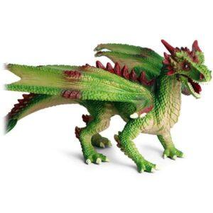 Dragon Figure Green Art Statue