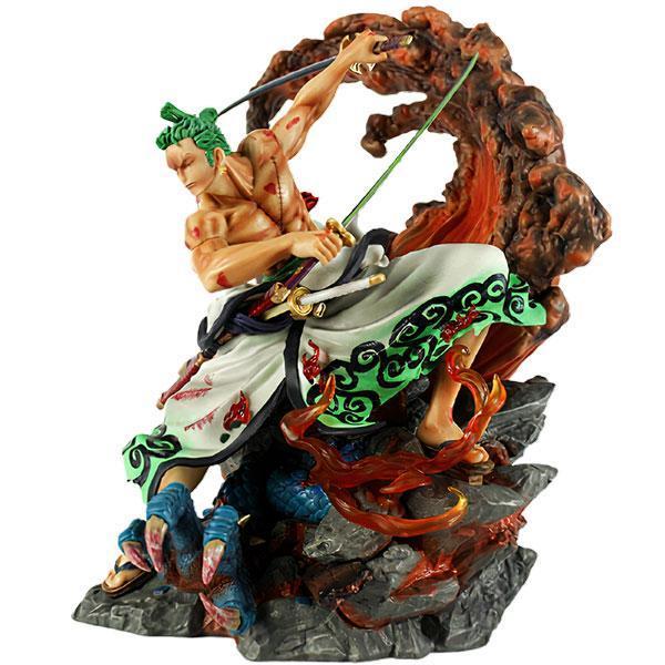 Dragon Figure Zoro vs Kaido PVC