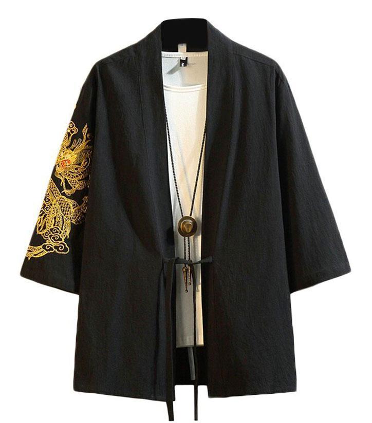Dragon Haori Soft Cotton