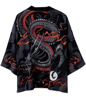 Dragon Kimono Tatsu Legend Polyester