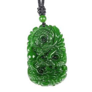 Jade Dragon Necklace
