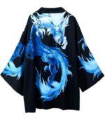 Frozen Style Dragon Kimono Haori