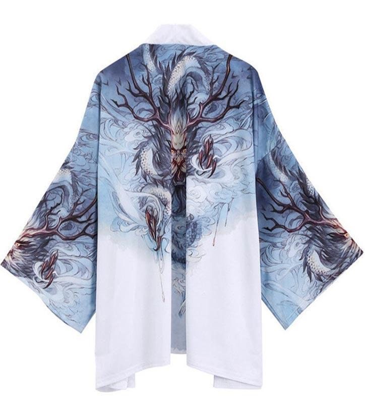 Ancestral Dragon Kimono Japanese Style