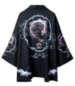 Man Dragon Kimono Dark Style