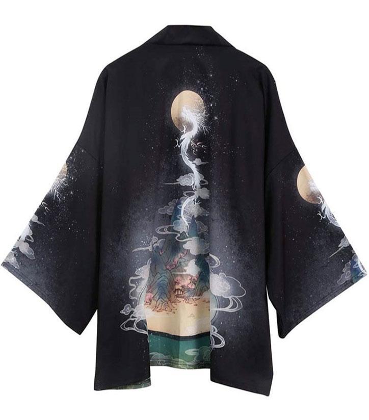Judo Martial Art Dragon Kimono Haori