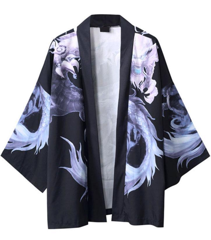 Spectral Dragon Haori Kimono