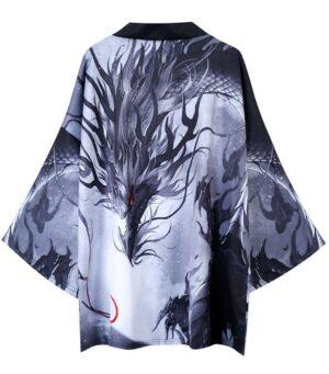 Japanese Modern Dragon Kimono Haori