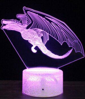 Dragon Lamp Ancestral (3D)