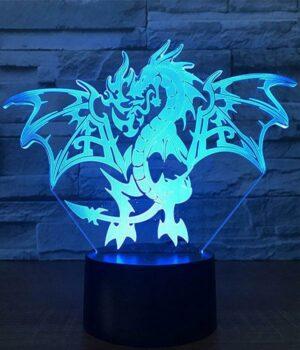 Dragon Lamp Flamboyant LED (3D)
