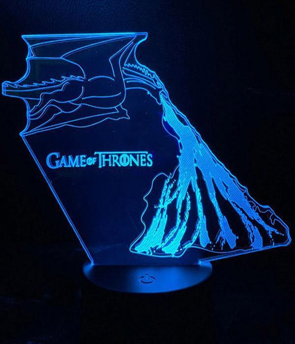 Dragon Lamp Drogon (3D)