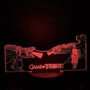 Dragon Lamp Game Of Thrones (3D)