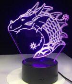 Dragon Lamp Haku (3D)