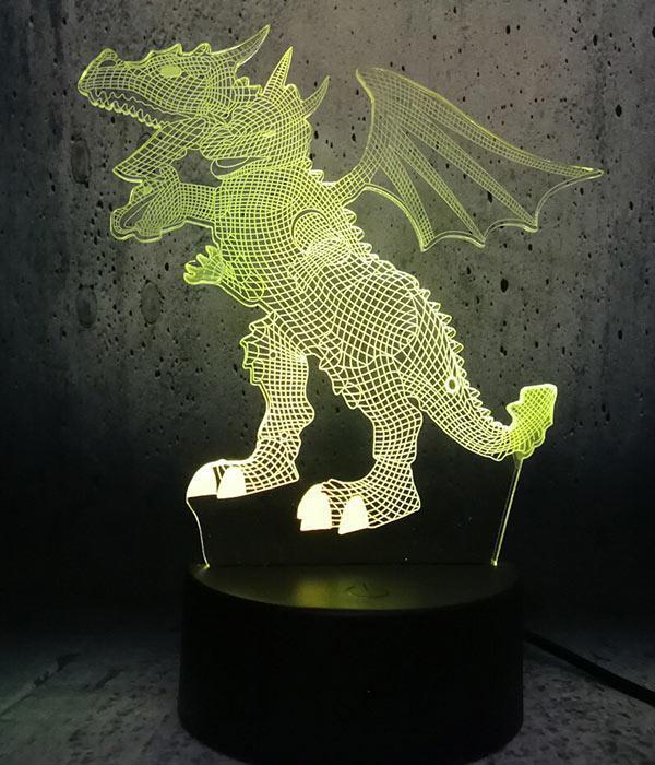 Dragon Lamp Hydra LED (3D)