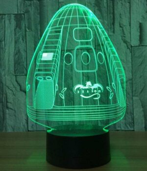 Dragon Lamp Space X (3D)