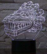 Dragon Lamp Tribal (3D)