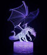 Dragon Lamp Élégant LED (3D)