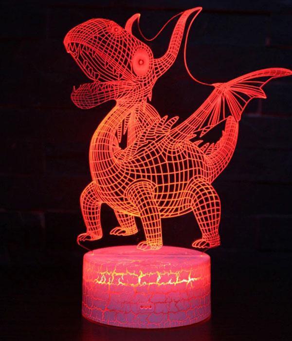 Dragon Lamp Decoration LED (3D)