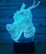 Dragon Lamp Head LED (3D)