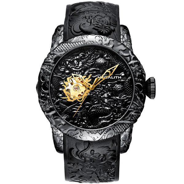 Dragon Watch Founder 50mm Analog Alloy
