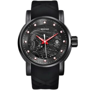 Dragon Watch Silicone 52.7mm Steel