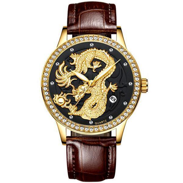 Dragon Watch Designer 40mm Quartz