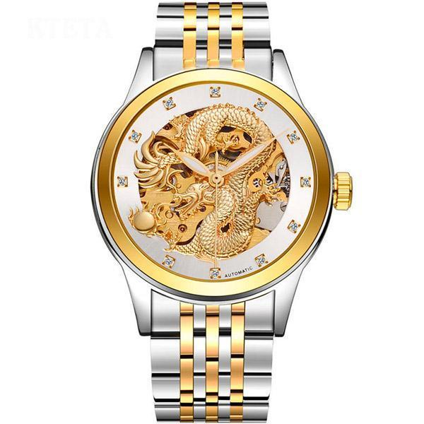 Dragon Watch Imperial Silver Plated