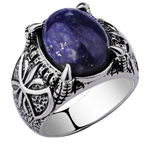 Dragon's Breath Opal Ring