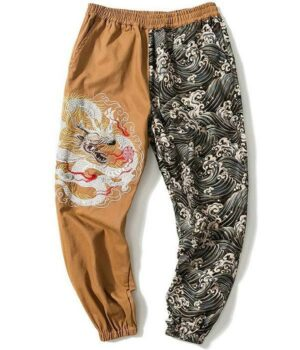 Dragon Pants Double Faced