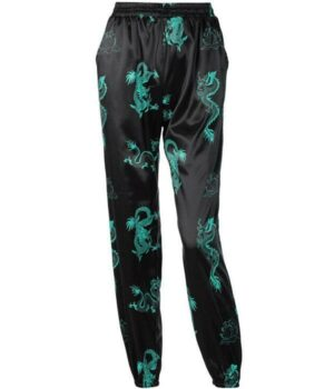 Dragon Pants Printed Spandex Polyester