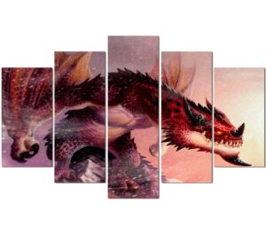 Dragon Painting Interior Decoration Wall Art
