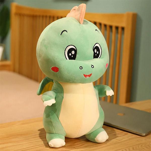 Peluche Dragon Cartoon Vert
