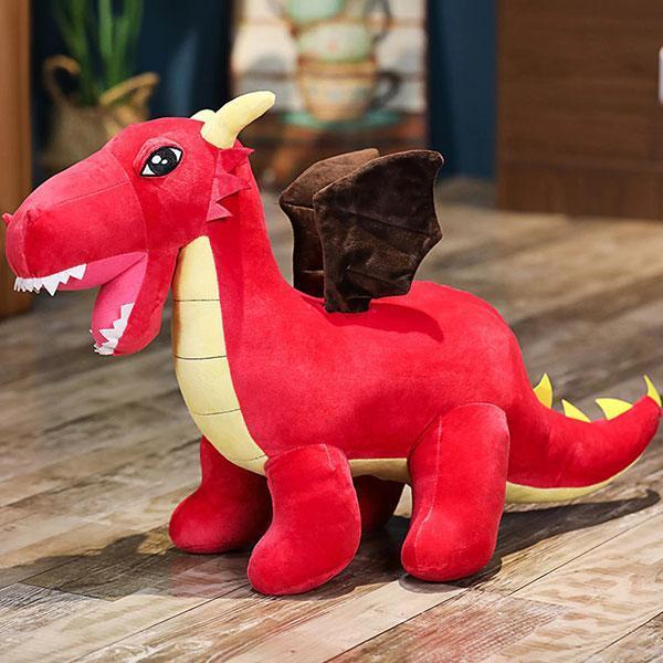 Peluche Dragon De Feu