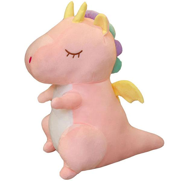 Dragon Plush Asleep Cotton Rainbow