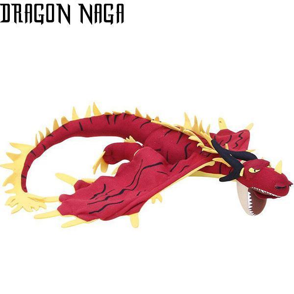 Dragon Plush Red Threat Cotton
