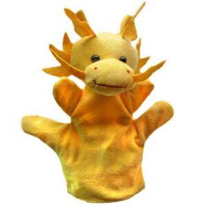 Dragon Plush Muppet Cotton