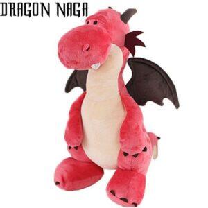 Dragon Plush Pink Soft Cotton