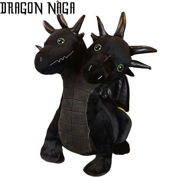 Dragon Plush Black Wings Cotton