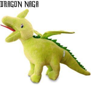 Dragon Plush Light Green Cotton