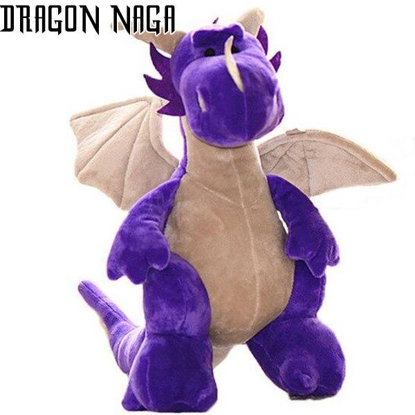 Dragon Plush Violet Cotton Soft