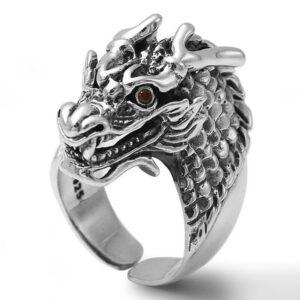 Imposing Dragon Ring