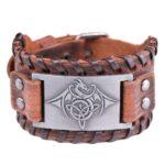Leather Dragon Bracelet
